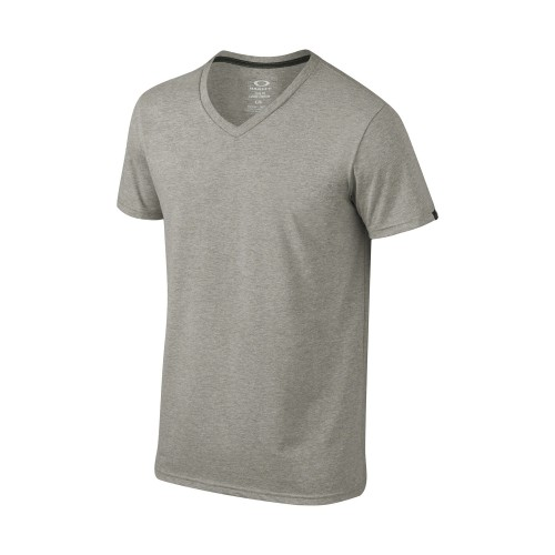OAKLEY Tshirt V-Neck - Athletic Grey