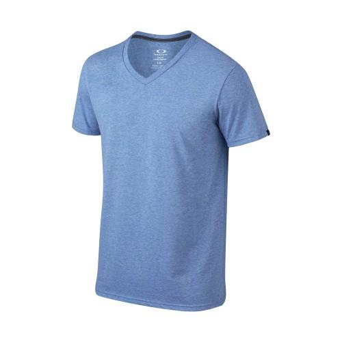 OAKLEY Tshirt  V-Neck - Sapphire Blue