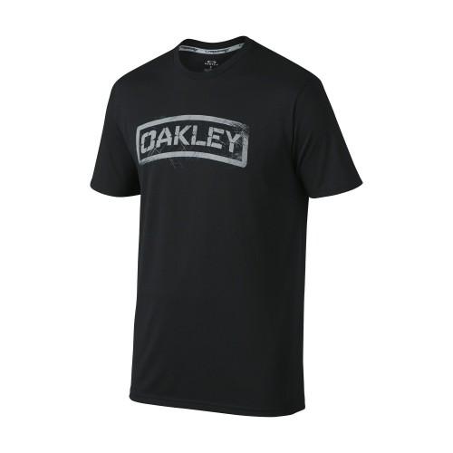 Tshirt OAKLEY Tab Tee - Jet Black