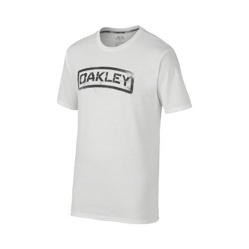 Tshirt OAKLEY Tab Tee - White
