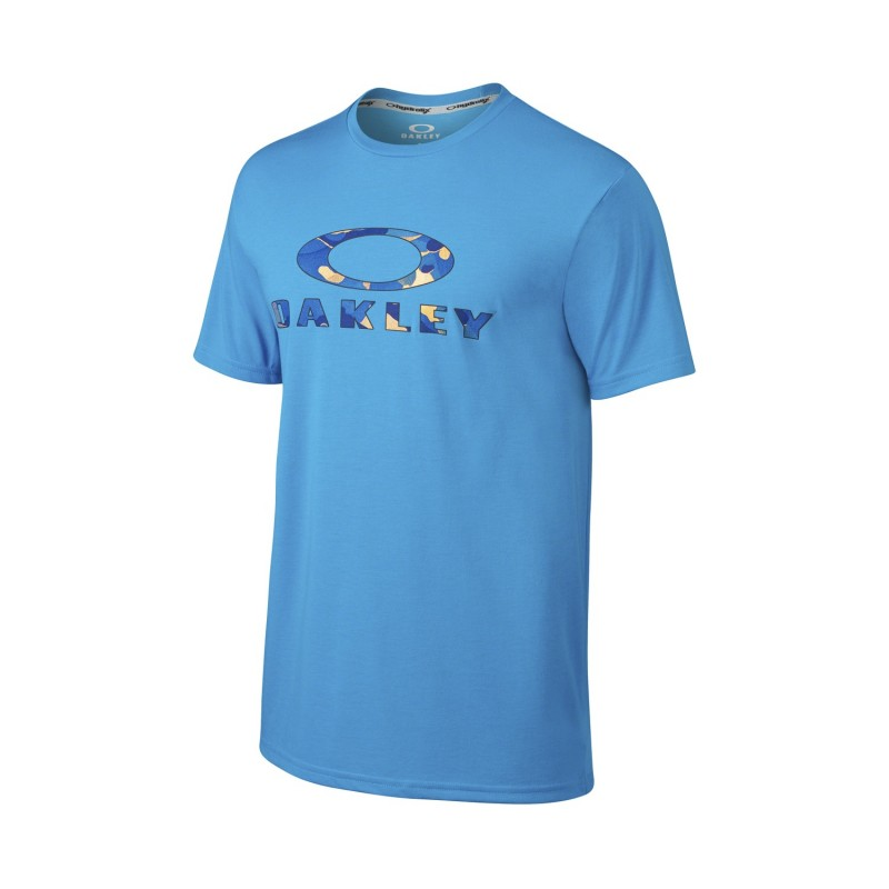OAKLEY Tshirt O-Stealth Tee - Pacific Blue