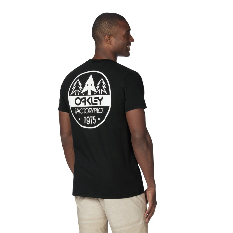 OAKLEY Tshirt Factory Pilot Graphic Tee - Jet Black