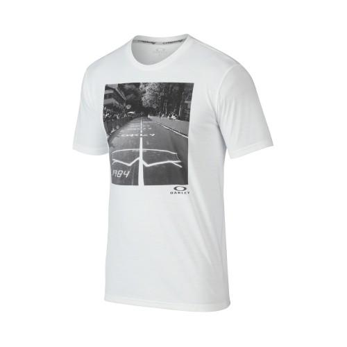 OAKLEY Tshirt O-Photoshades Tee - White