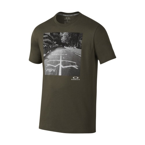 Tshirt OAKLEY O-Photoshades Tee - Dark Brush