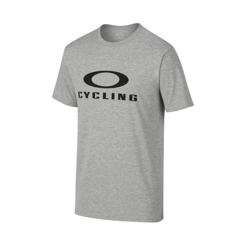Tshirt OAKLEY O-Cycling Tee - Heather Gris