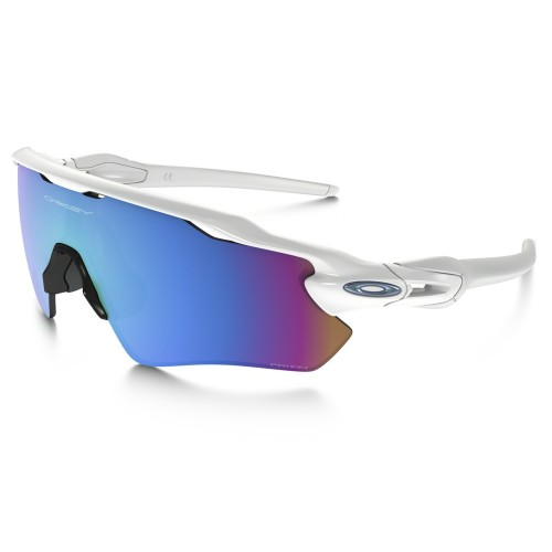 OAKLEY Lunettes Radar EV Polished White / Prizm Saphirre Snow