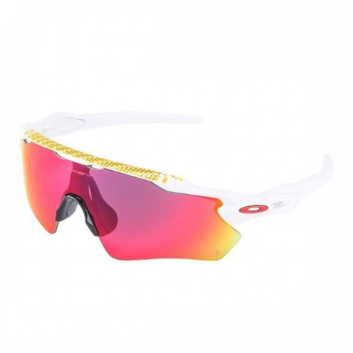 Lunettes OAKLEY Radar EV Tour de France Collection - Matte White  / Prizm Road