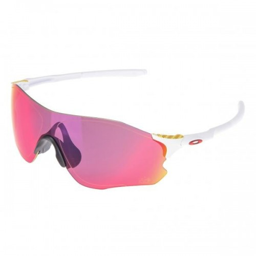 Lunettes OAKLEY EVzero Tour de France Collection - Matte White / Prizm Road