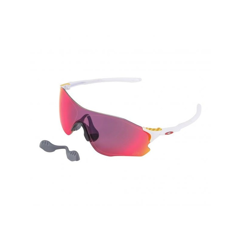OAKLEY Lunettes EVzero Tour de France Collection - Matte White / Prizm Road