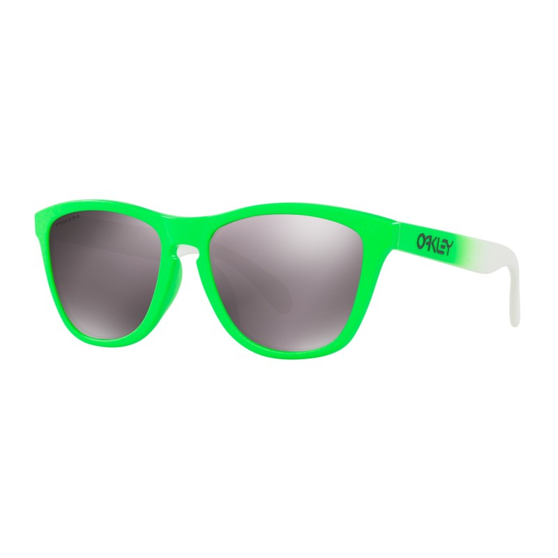 ad1442d13b54c0 Lunettes OAKLEY Frogskins Green Fade  Prizm Daily Polarized - Okust
