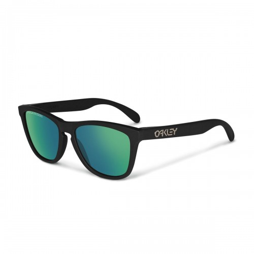 Lunettes OAKLEY Frogskins Polished Black Emeraud Polarized