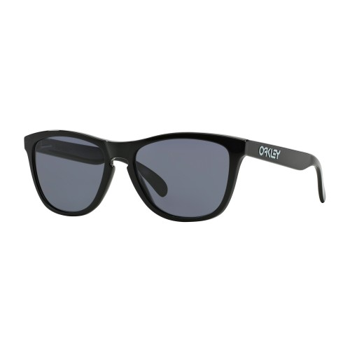 Lunettes OAKLEY Frogskins Polished Black/Grey