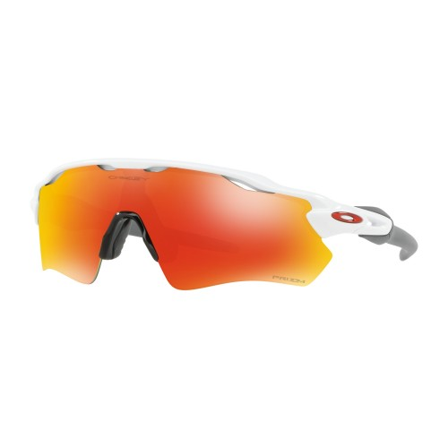 Lunettes OAKLEY Radar EV Polished White/Prizm Ruby