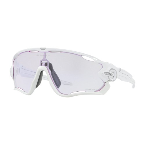 OAKLEY Lunettes Jawbreaker Polish White / Prizm Low Light
