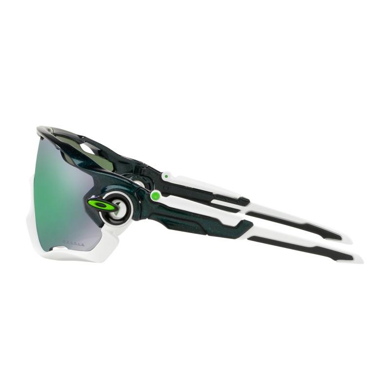 OAKLEY Lunettes Jawbreaker Aero Matte Carbon Prizm Ruby
