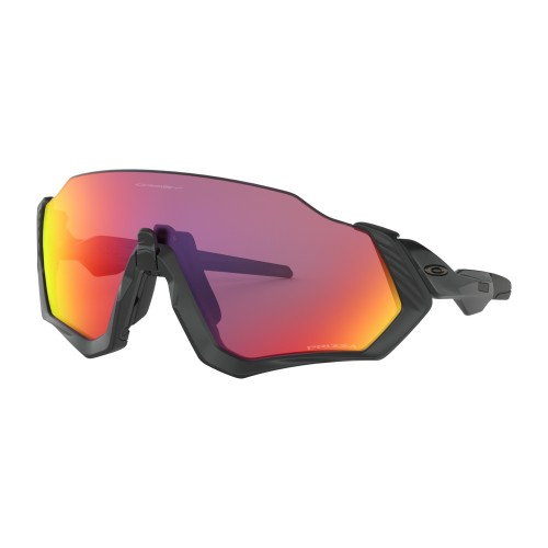 Lunettes OAKLEY Flight Jacket Matte Black Prizm Road