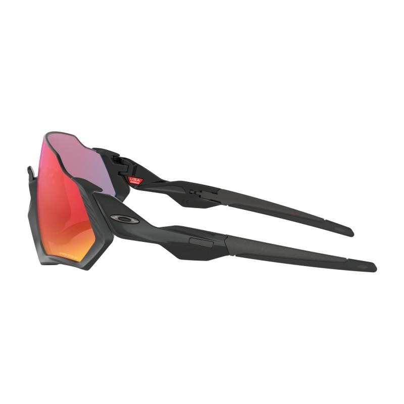 Oakley Lunettes Flight Jacket Matte Black Prizm Road
