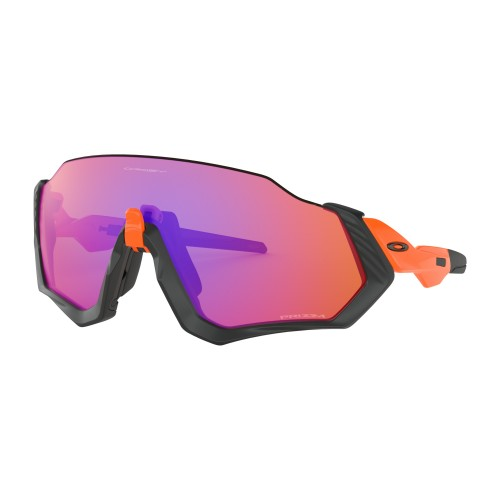 Lunettes OAKLEY Flight Jacket Matte Black Prizm Trail