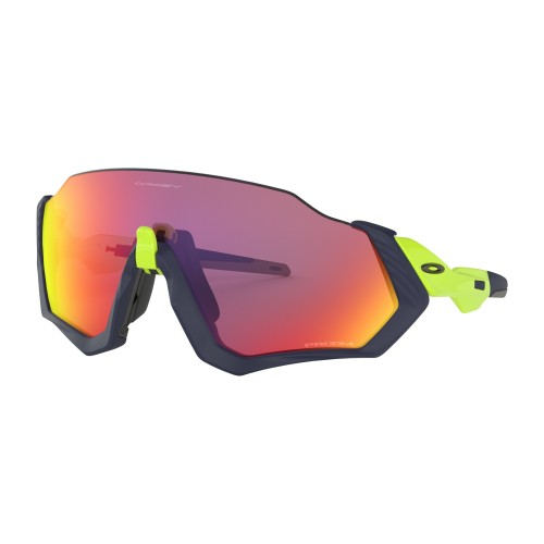 Oakley Lunettes Flight Jacket Matte Navy Prizm Road
