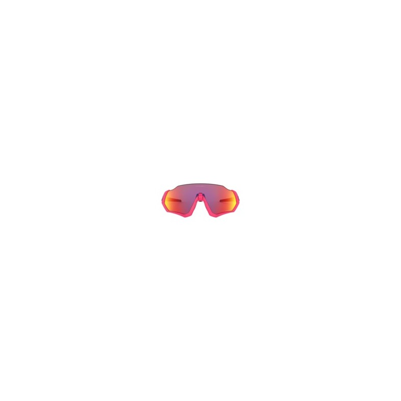 Oakley Lunettes Flight Jacket Neon Pink Prizm Road