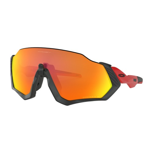Lunettes OAKLEY Flight Jacket Black Prizm Ruby Polarized
