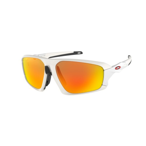 Oakley Lunettes Field Jacket Matte White Prizm Ruby