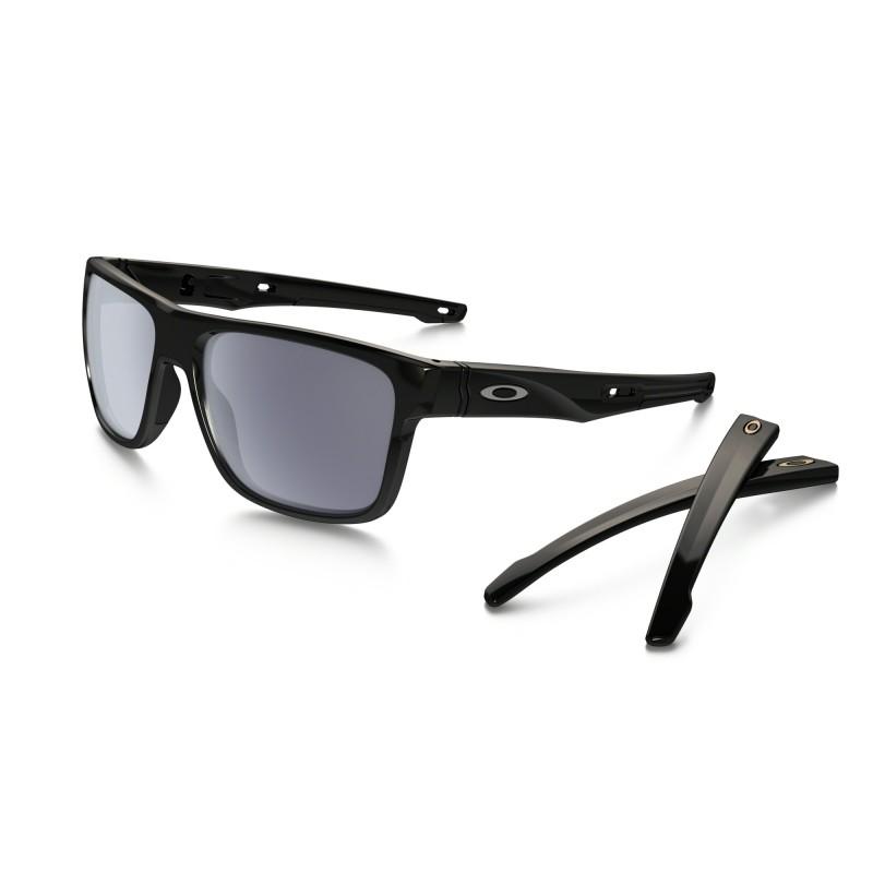 a7bad13a5368ed Lunettes OAKLEY Crossrange Polished Black Grey - Okust