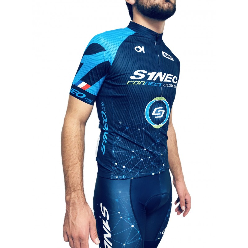 Maillot Manches Courtes Replica S1neo Connect Cycling Team
