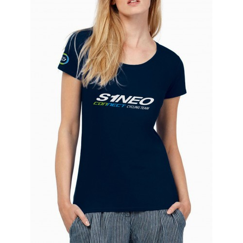 Tee Shirt Femme S1neo Connect Cycling Team